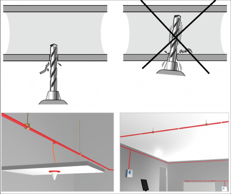 Support,Installation,Aspirating smoke detector,High Power,ASD Sampling Types,ASD,AVA,AVAMA,Duct sampling,Relative sensitivity